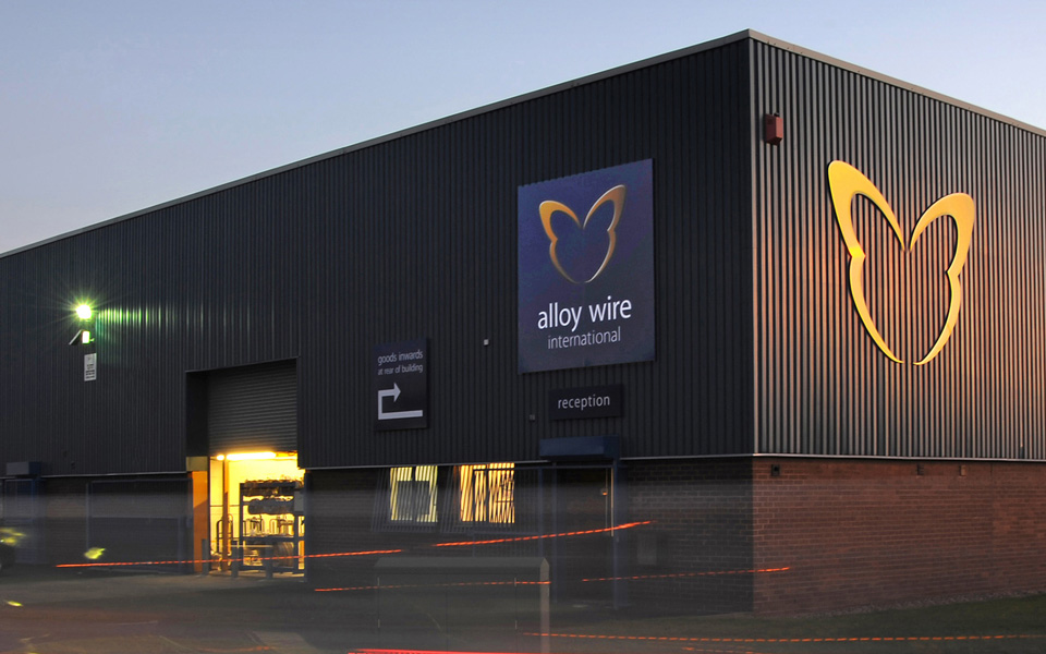 Alloy Wire Branding Project