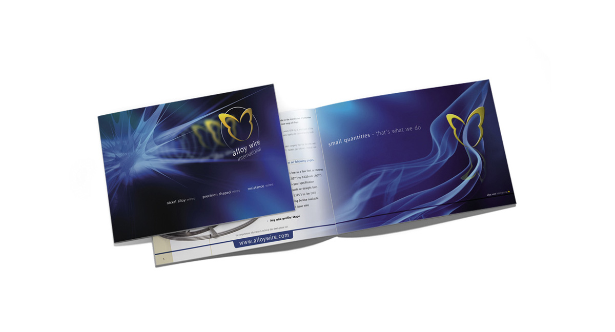 alloy wire landscape brochure