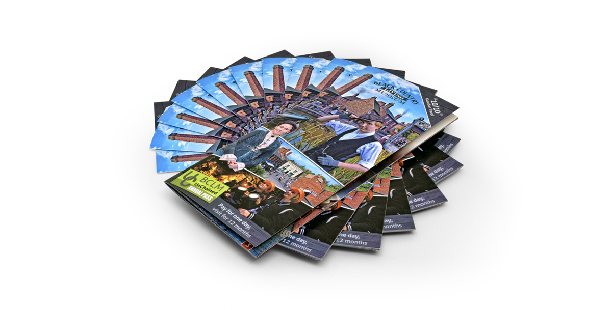 black country living museum main leaflet