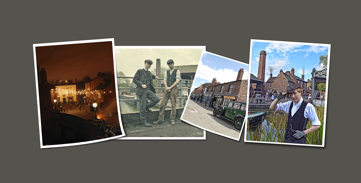 black country living museum photo strip