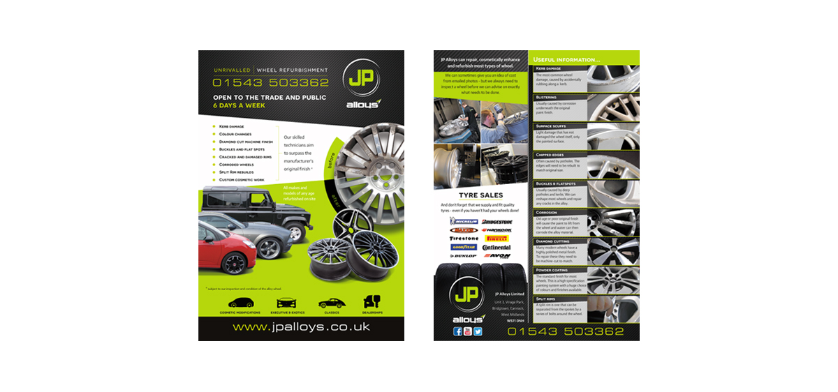 jp alloys brochure inserts