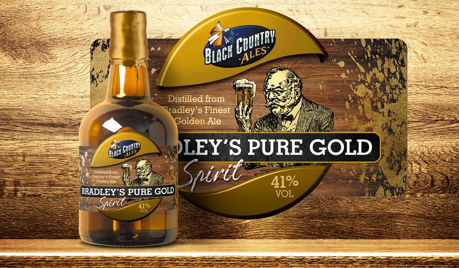 sprit label design