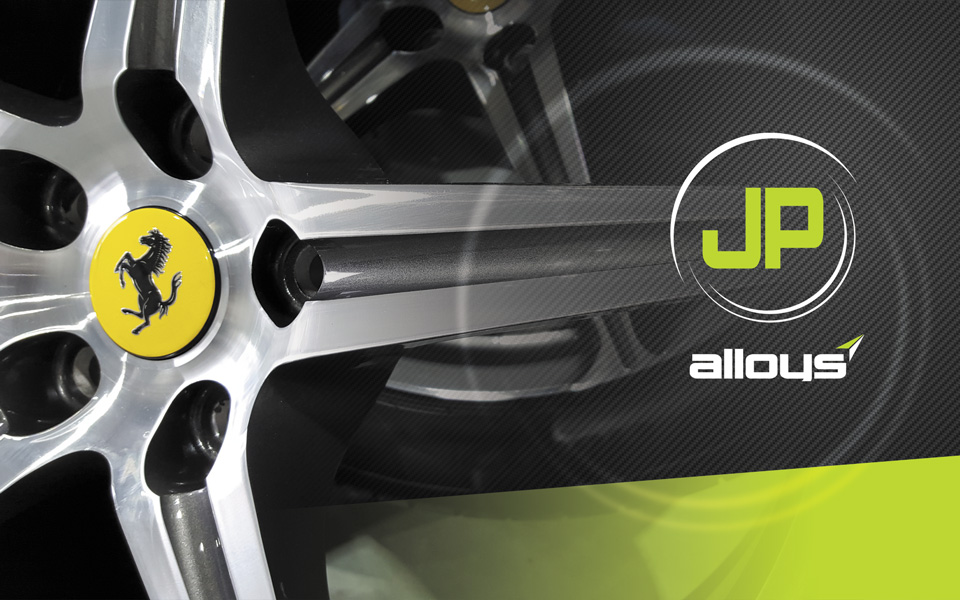 JP Alloys Website Design